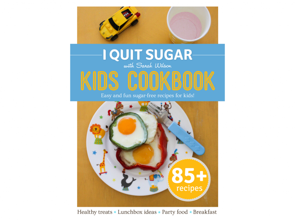 I Quit Sugar: Win A Kids Cookbook