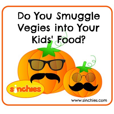 Hiding Vegetables In Food For Your Kids