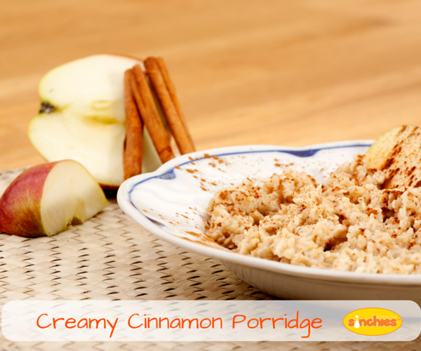 Creamy Cinnamon Porridge Sinchies