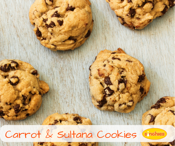 Carrot & Sultana Cookies Recipe