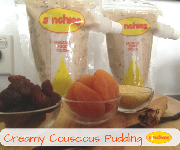 Creamy cous cous pudding recipe