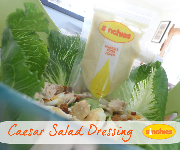 Caesar-Salad-dressing-recipe-storage-container-camping-barbeques-picnics-sinchies-reusable-pouches