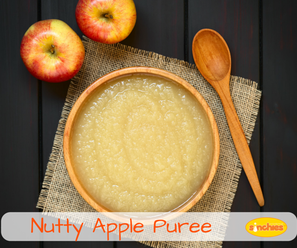 Nutty Apple Puree Baby Food Sinchies