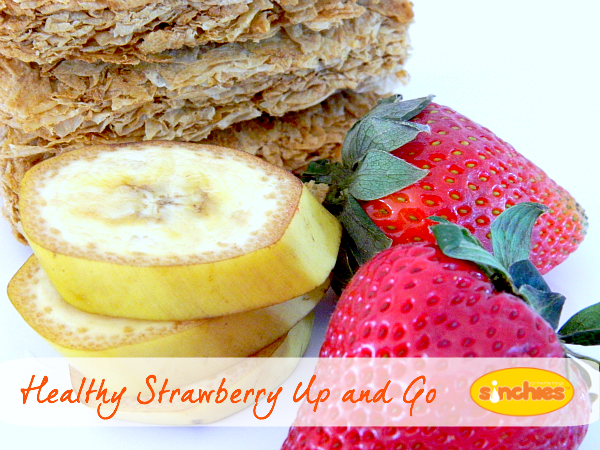 Healthy Strawberry Up and Go Recipe - Sinchies