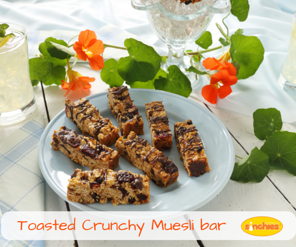 Toasted Crunchy Muesli Bar