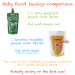 sinchies-reusable-pouches-baby-food-savings-comparison