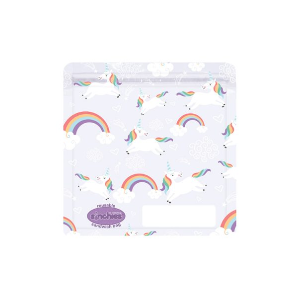 Sinchies unicorn reusable sandwich bag