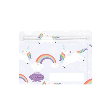 Sinchies unicorn reusable snack bag