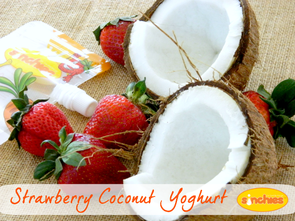 Strawberry Coconut yogo