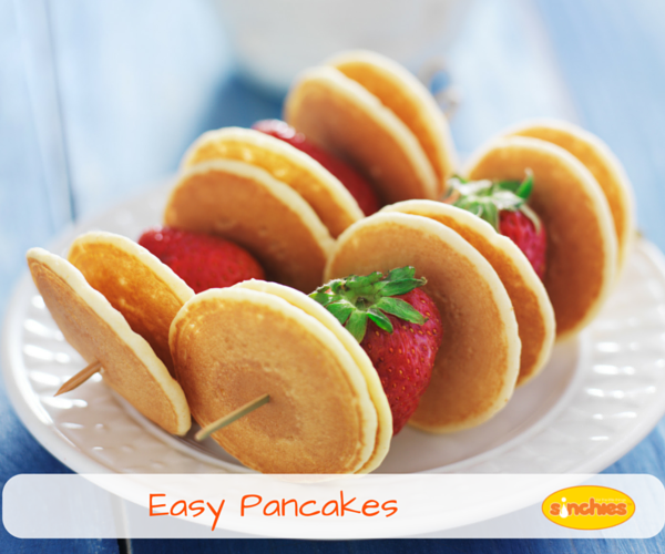 Easy Pancakes in a bag