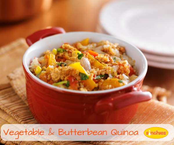 Vegetable & Butterbean Quinoa Baby Food