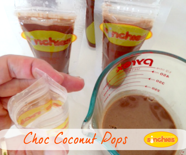 coconut chocolate pops
