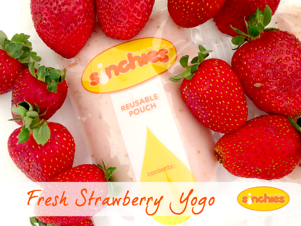 fresh strawberry yogo