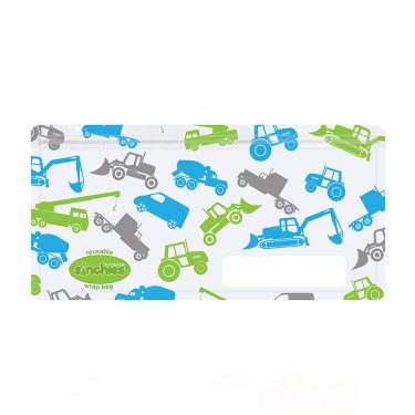 Sinchies trucks reusable wrap bag
