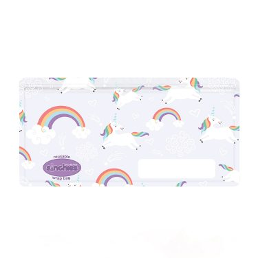 Sinchies unicorn reusable wrap bag