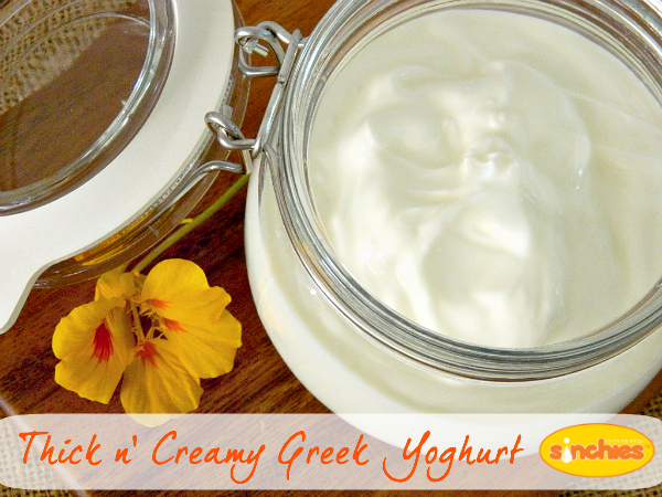 thick and creamy greek yogurt