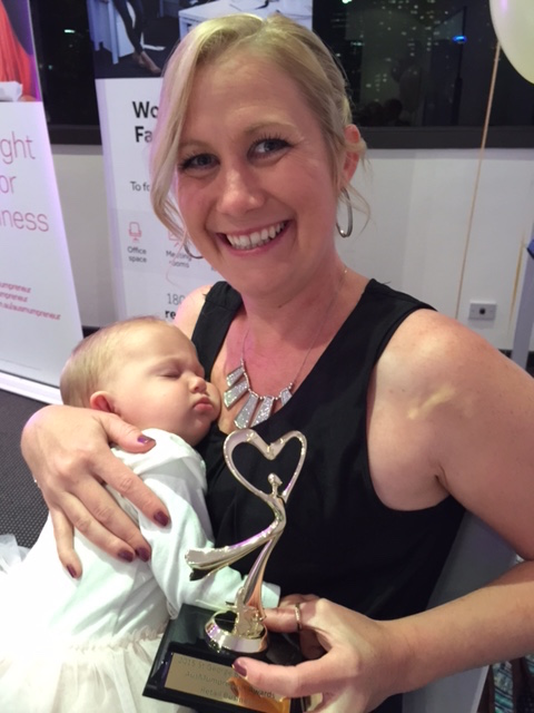 AusMumpreneur: Sam Spunner Wins Retail Business Award