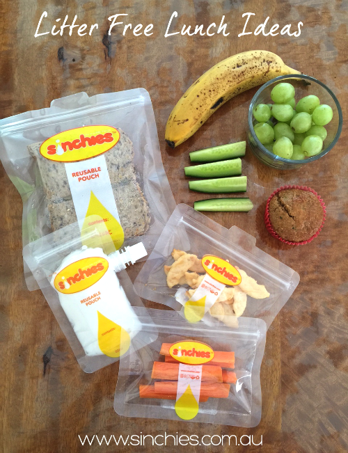 Free From Lunch Box Ideas Wk 2 - Nude Food, Litter Free