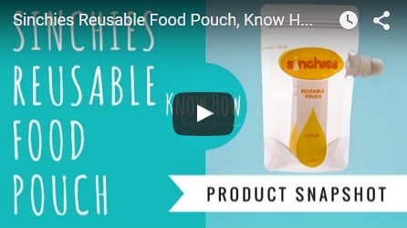 Sinchies Reusable Food Pouch Reviews by Know How