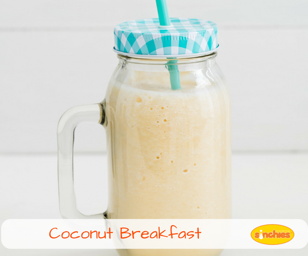 Coconut Breakfast Smoothie Recipe