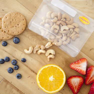 sinchies reusable ziplock snack bag