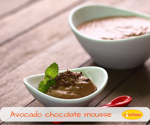 Healthy Avocado chocolate mousse