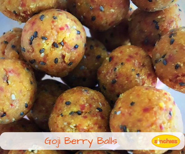 Goji berry balls recipe