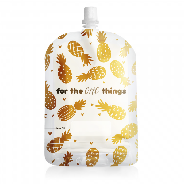 Sinchies 150ml pineapples reusable pouch