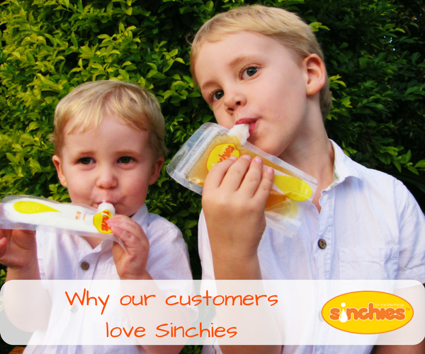 Why our customers love sinchies