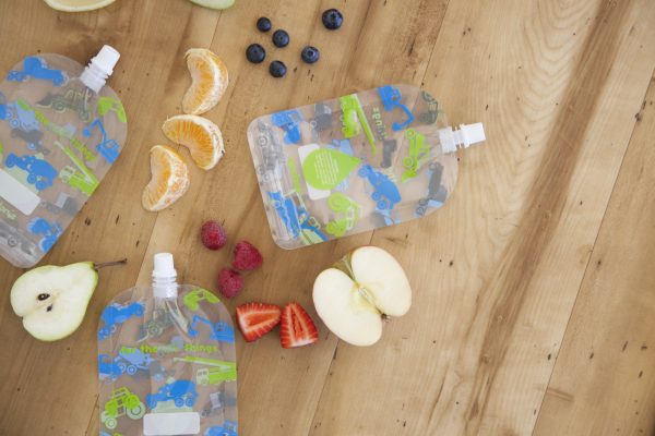 Sinchies reusable yoghurt pouches