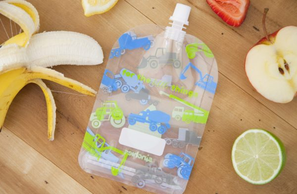 Sinchies reusable food pouch