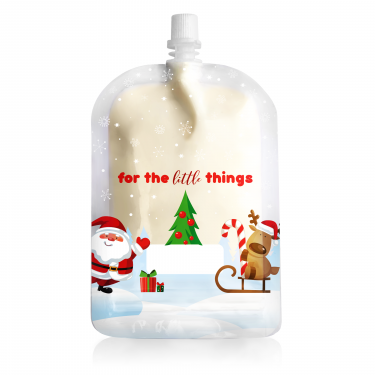 Sinchies 150ml christmas reusable pouch