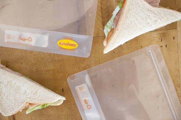 Sinchies reusable sandwich ziplock bag