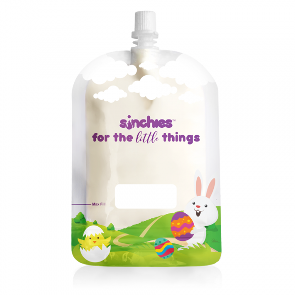 Sinchies 150ml easter reusable pouch
