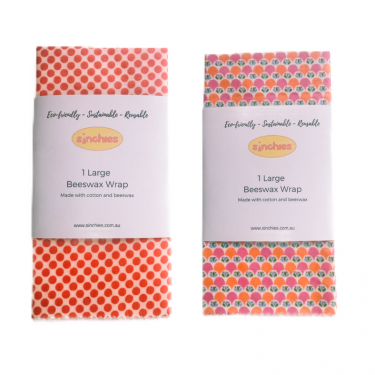 reusable beeswax food wraps sinchies