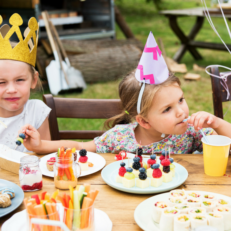 Throwing A Healthier Kids' Party