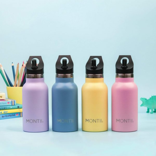 Mini Drink Bottle 350ml Insulated Stainless Steel Kids: MontiiCo