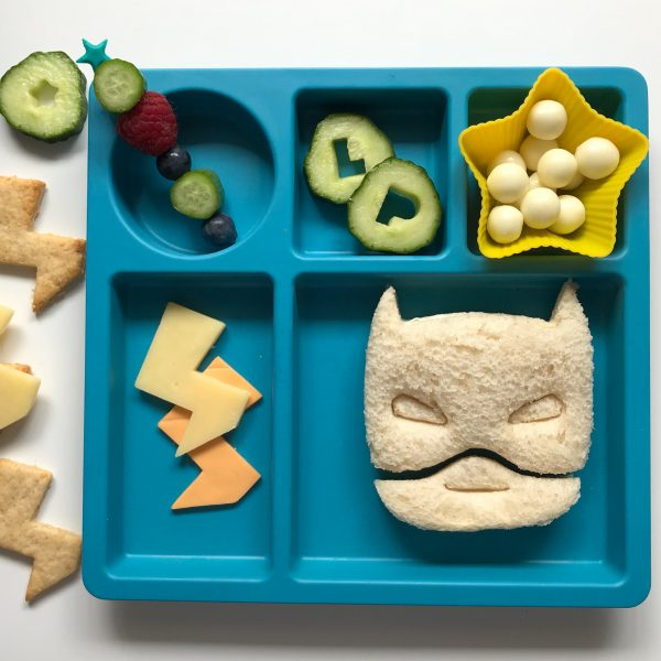 super hero mask sandwich cutter sinchies
