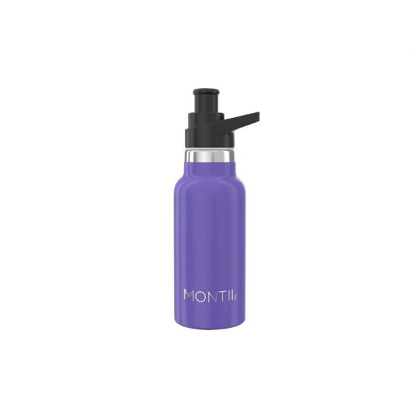 Montii Purple 250ml Stainless Steel Drink Bottle
