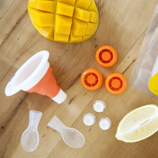 Pick and Mix Sinchies Accessories for Reusable Food Pouches