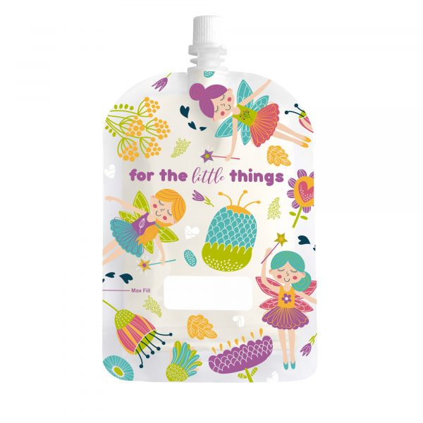 Sinchies 150ml fairies reusable pouch