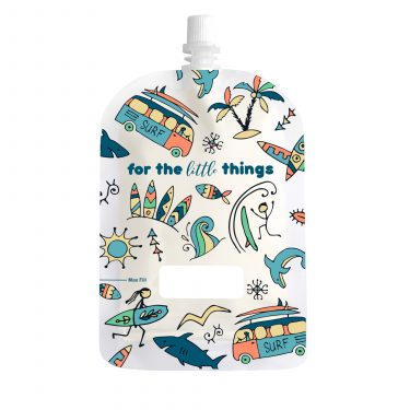 Sinchies 150ml surfing reusable pouch