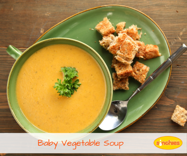 Baby Vegetable Soup Recipe