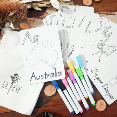 Alphabet Flash Cards Australia - ABC Cards Online
