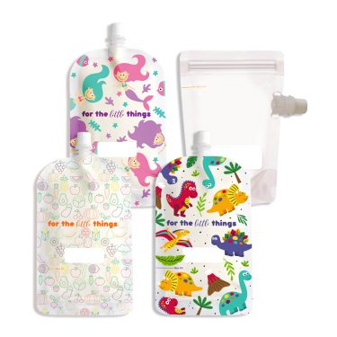 200ml top spout reusable pouches
