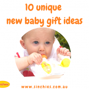 10 unique new baby gift ideas